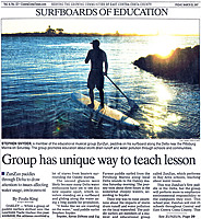 Group has unique way to teach lesson. Article in Contra Costa Times, March 2007