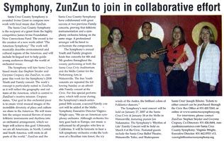 Symphony, ZunZun to join in collaborative effort.